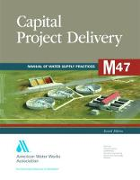 M47 Capital Project Delivery by American Water Works Association (AWWA)
