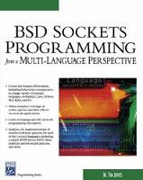 BSD Sockets Programming From a Multi-Language Perspective by M.Tim Jones