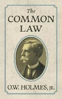 The Common Law by Jr Oliver Wendell Holmes