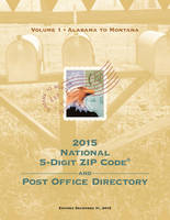 2015 National Zip Code Directory by U.S. Postal Service