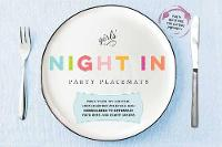 Girls Just Want to Have Fun: Perfect Dinner Party Placemats More Than 400 Conversation Starters to Amaze, Amuse, and Astound Your BFFS by Cider Mill Press