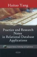 Practice & Research Notes in Relational Database Applications by Haitao Yang
