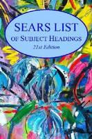 Sears List of Subject Headings by H. W. Wilson
