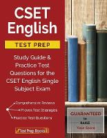 Cset English Test Prep Study Guide & Practice Test Questions for the Cset English Single Subject Exam by Cset English Study Book Prep Team