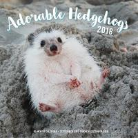 Adorable Hedgehogs Mini 2018 16 Month Calendar Includes September 2017 Through December 2018 by Editors of Rock Point