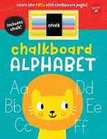Chalkboard Alphabet Learn the ABCs with chalkboard pages! by Walter Foster