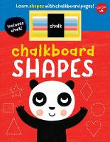 Chalkboard Shapes Learn shapes with chalkboard pages! by Walter Foster