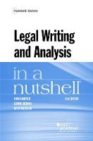 Legal Writing and Analysis in a Nutshell by Lynn Bahrych, Jeanne Merino, Beth McLellan