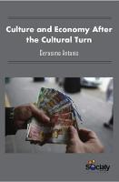 Culture & Economy After the Cultural Turn by Gerasimo Antonis