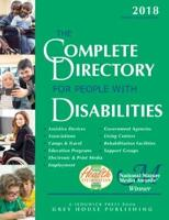 Complete Directory for People with Disabilities, 2018 by Laura Mars