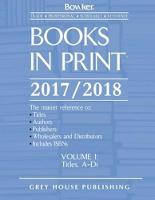 Books in Print, 2017-18 7 Volume Set by R. R. Bowker