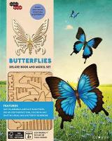 Incredibuilds: Butterflies Deluxe Book and Model Set by Tepper Brown