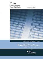 Exam Pro on Torts (Objective) by John Bauman, Ronald W. Eades