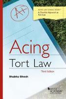 Acing Tort Law by Shubha Ghosh
