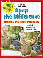Spot the Difference Animal Picture Puzzles 200 Adorable Pictures - Hours and Hours of Puzzle Fun by TIME For Kids Magazine