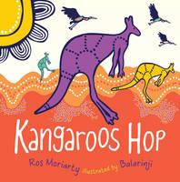 Kangaroos HOP by Ros Moriarty