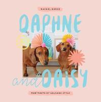 Daphne and Daisy Pawtraits of Sausage Style by Rachel Burke