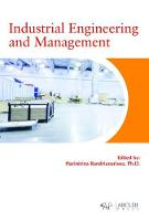 Industrial Engineering and Management by Harinirina Randrianarisoa