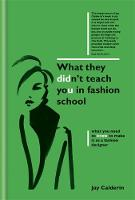 What They Didn't Teach You in Fashion School by Jay Calderin