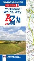 Yorkshire Wolds Way Adventure Atlas by