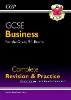 New GCSE Business Complete Revision and Practice - For the Grade 9-1 Course (with Online Edition) by CGP Books
