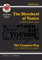 Grade 9-1 GCSE English The Merchant of Venice - The Complete Play by CGP Books