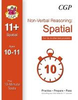 10-Minute Tests for 11+ Non-Verbal Reasoning: Spatial Ages 10-11 - for GL & Other Test Providers by CGP Books