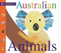 Australian Animals Alphaprints by Roger Priddy