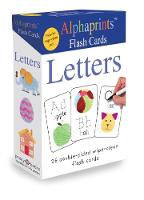 Alphaprints Flash Cards Letters by Roger Priddy