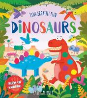 Fingerprint Fun: Dinosaurs by Kate Daubney