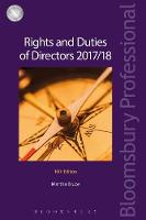 Rights and Duties of Directors 2017/18 by Martha Bruce