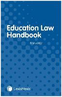 Education Law Handbook by Katherine Eddy