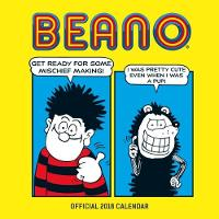 Beano (Classic) Official 2018 Calendar - Square Wall Format by