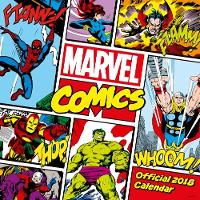 Marvel Comics Classic Official 2018 Calendar - Square Wall Format by