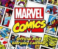 Marvel Comics Official 2018 Desk Block Calendar - Page-A-Day Desk Format by