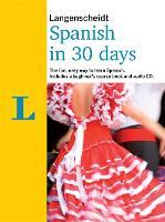 Langenscheidt Spanish In 30 Days by Langenscheidt