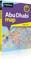 Abu Dhabi Map by Explorer Publishing
