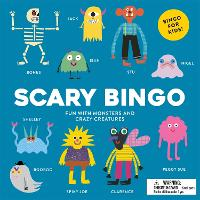 Scary Bingo Fun with Monsters and Crazy Creatures by Rob Hodgson