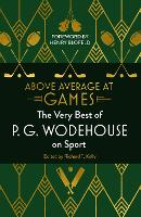 Cover for Above Average at Games  by P.G. Wodehouse
