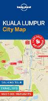 Lonely Planet Kuala Lumpur City Map by Lonely Planet