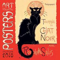 Art Nouveau Posters Wall Calendar 2018 (Art Calendar) by