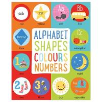 Alphabet, Shapes, Colours, Numbers by