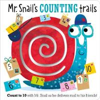 Mr. Snail's Counting Trails by Stuart Lynch