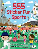 555 Sticker Fun Sports by Arthur Over