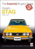 Triumph Stag The Essential Buyer's Guide by Norm Mort, Tony Fox