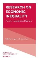Research on Economic Inequality Poverty, Inequality and Welfare by Sanghamitra Bandyopadhyay