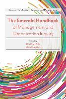 The Emerald Handbook of Management and Organization Inquiry by Professor Mabel Sanchez, David M. Boje