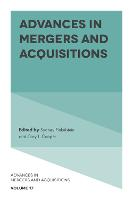 Advances in Mergers and Acquisitions by Sydney Finkelstein