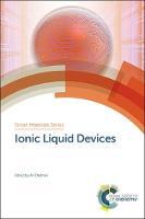 Ionic Liquid Devices by Ali (Ulster University, UK) Eftekhari