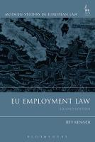 EU Employment Law by Jeff Kenner